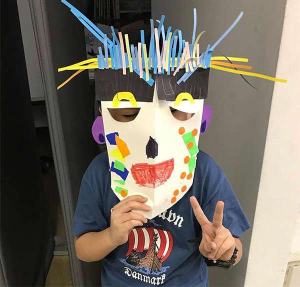 Mask Painting Image