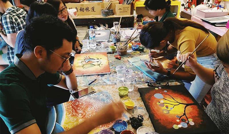 Painting Techniques Image Singapore