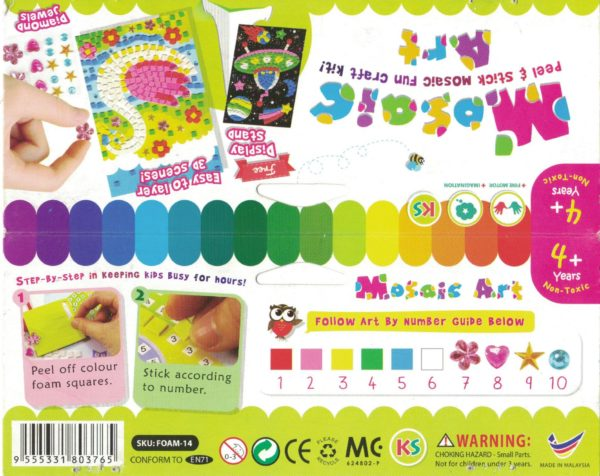 Mosaic Art Materials Kit