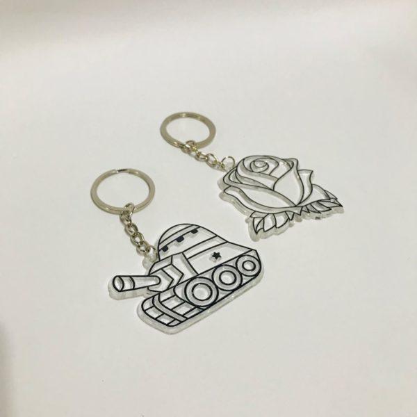 Sun Catcher 2-In-1 Keychain kit 3-B