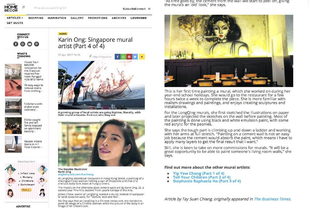 Our Artist Featured In HomeAndDecor & Business Times