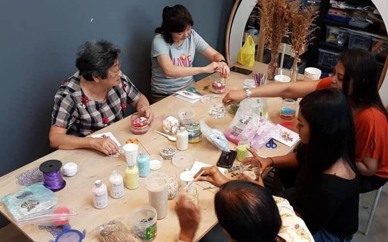 Group Candle Making Workshop Singapore