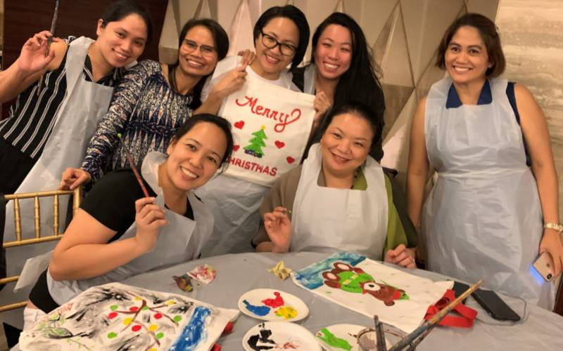 Tote Bag Painting Workshops Singapore