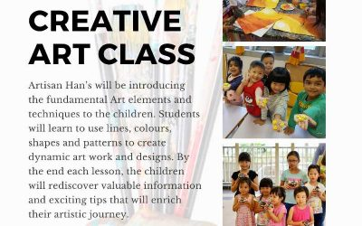 Mixed Media Creative Art Class For Kids