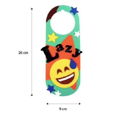 Felt Emoji door hanger 4
