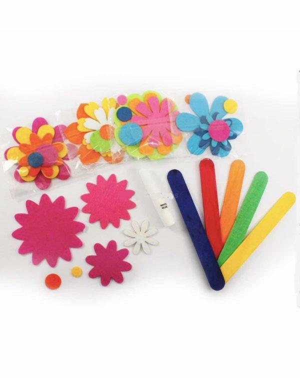 felt flower bookmark 3