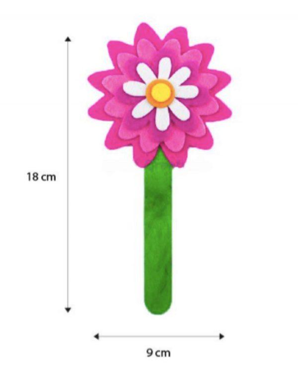 Felt flower bookmark 4