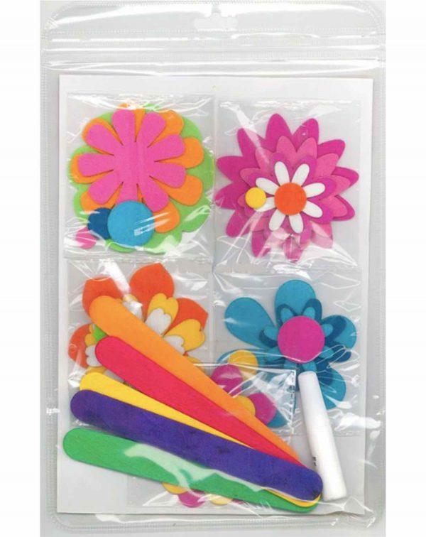 felt flower bookmark 2