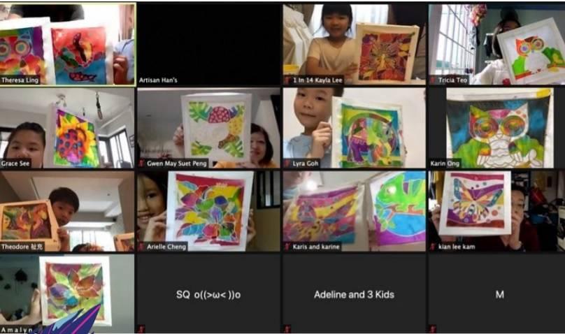 Virtual Art Workshops Singapore